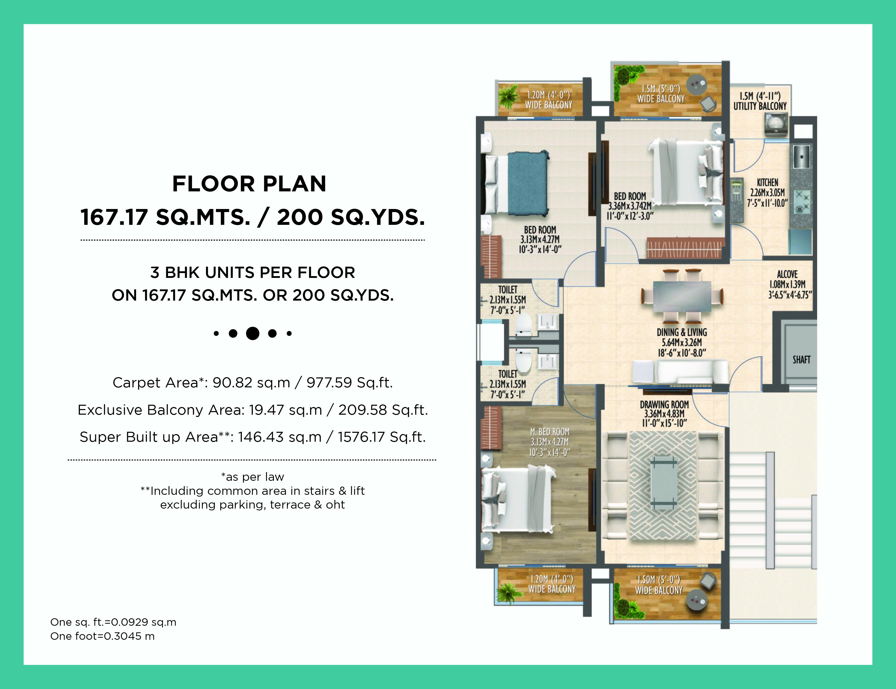 Ind Floor 200 Sq. yards