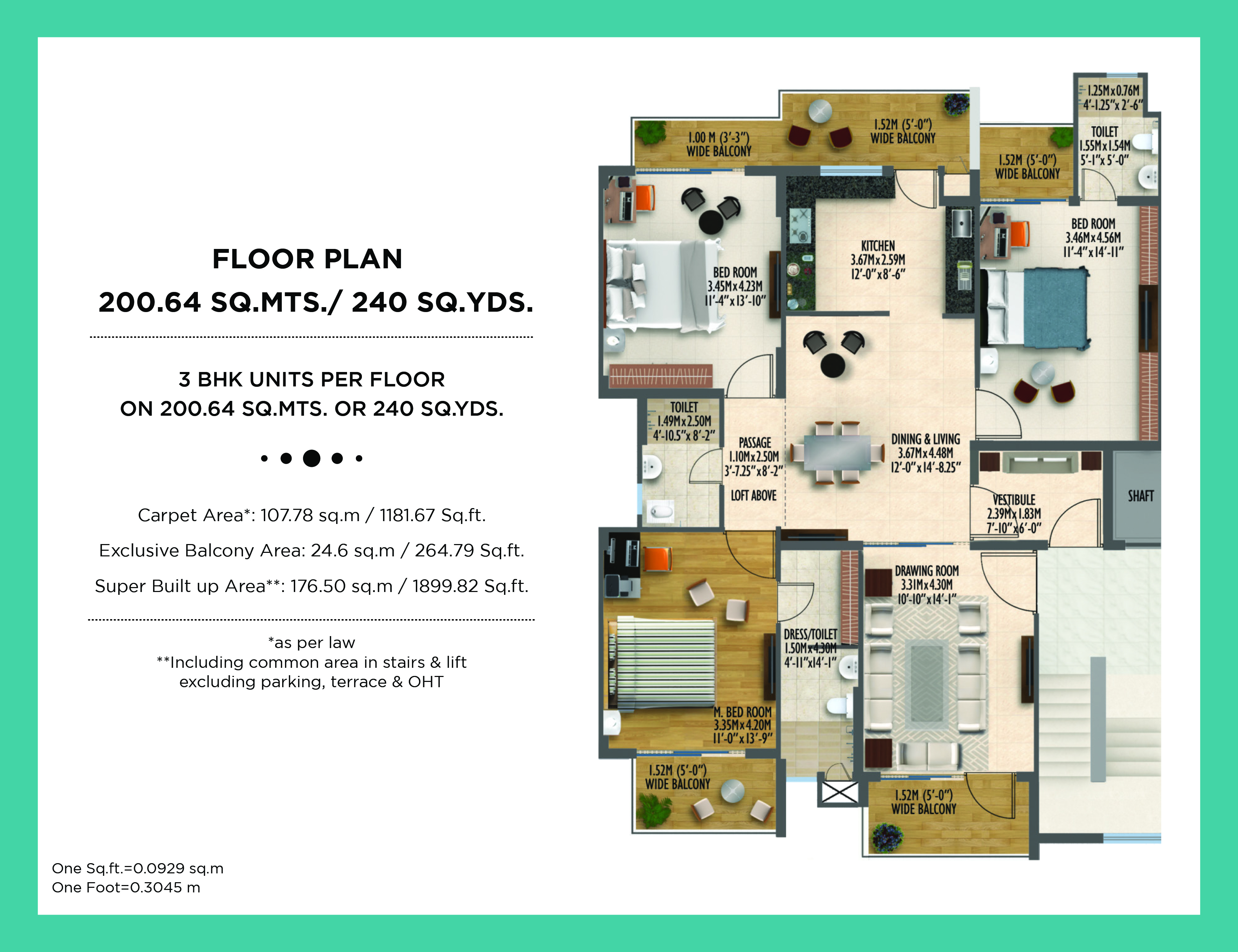 Ind Floor 240 Sq. yards
